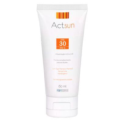 Imagem 2 do produto Protetor Solar Facial Fps30 Actsun - Protetor Solar - 60ml