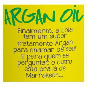 Lola Cosmetics Argan Oil - Máscara de Reconstrução - 930g