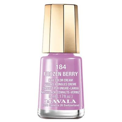 Mavala Mini Color 5ml - Esmalte Perolado - 184 - Frozen Berry