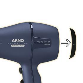 Secador de Cabelo Signature Pro AC AC22 Azul - Arno - Secador de Cabelo Signature Pro AC AC22 Azul - Arno - 220V