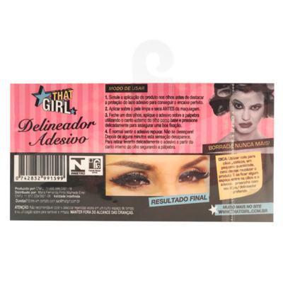 Imagem 3 do produto Delineador Adesivo Glamour Girl - That Girl - Kit