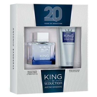 Antonio Banderas King of Seduction Kit - Eau de Toilette + Pós-Barba - Kit