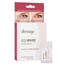 Rejuvenescedor Facial Dermage Age Away - 10 Un
