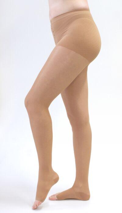 Meia Calça 20-30 mmHg Sheer & Soft Medi - NATURAL VII PONTEIRA ABERTA