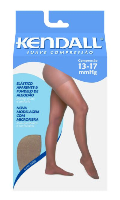 Imagem 1 do produto MEIA CALÇA 13-17 SUAVE KENDALL - CASTANHO PONTEIRA FECHADA M