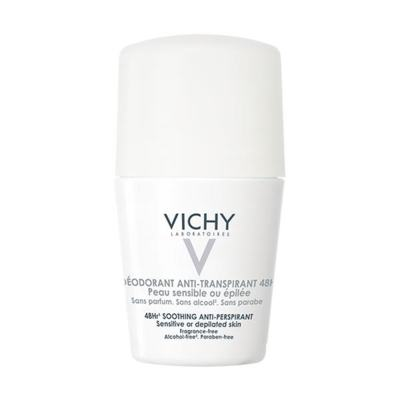Vichy Desodorante Anti-Transpirante 48h Pele Sensível Roll On 50ml