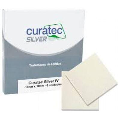 Curativo Silver IV Curatec - 10X10CM