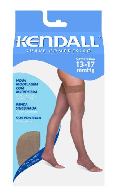 Imagem 1 do produto MEIA COXA 13-17 SUAVE KENDALL - CASTANHO PONTEIRA ABERTA P