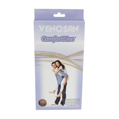 Imagem 1 do produto Meia Panturrilha AD 30-40 Comfortline Cotton Venosan - CURTA PONTEIRA ABERTA BEGE XXG