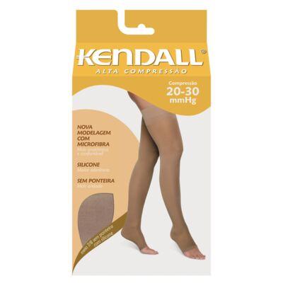 Imagem 1 do produto MEIA COXA 20-30 ALTA KENDALL - MEL PONTEIRA FECHADA M