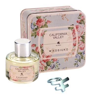 California Valley Eau de Parfum Kosiuko - Kit de Perfume Feminino + Chaveiro - 50ml