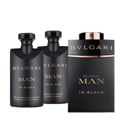 Imagem 2 do produto Man in Black BVLGARI - Masculino - Eau de Parfum - Perfume Masculino + Gel de Banho + Pós Barba + Nécessaire - Kit