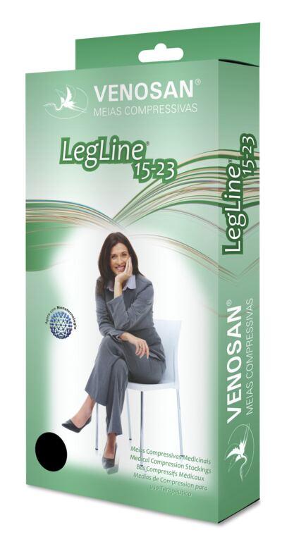Imagem 3 do produto Meia Coxa AGH 15-23 mmHg Legline Venosan - PONTEIRA ABERTA OLINDA XG