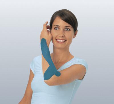 Imagem 1 do produto Leukotape 5 cm  X 5 m Azul BSN Medical