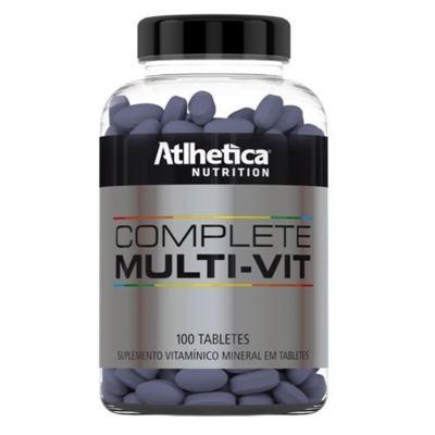 Multivitamínico Complete Multi Vit 100 Tabletes - Atlhetica Nutrition
