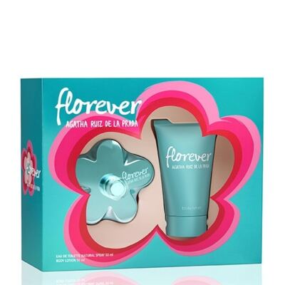 Imagem 1 do produto Kit Florever Agatha Ruiz de La Prada Eau de Toilette Feminino - 80 ml + Body Lotion 100 ml