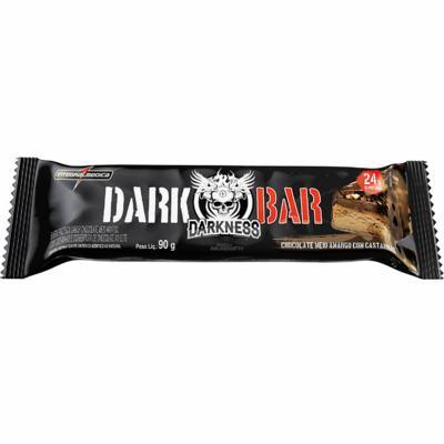 Imagem 1 do produto Dark Whey Bar 90g - Integralmedica - Chocolate Amargo