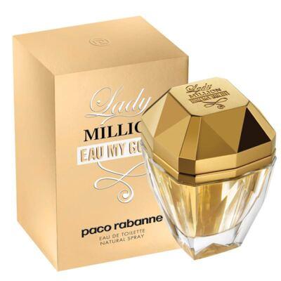 Imagem 1 do produto Lady Million Eau My Gold Feminino de Paco Rabanne Eau de Toilette - 80 ml