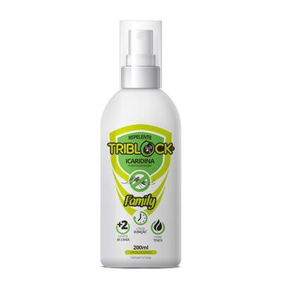 Imagem 1 do produto Repelente Triblock Family Spray 200ml
