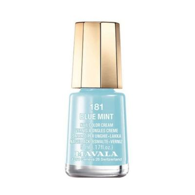Mavala Mini Color 5ml - Esmalte Perolado - 181 - Blue Mint