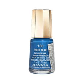 Mavala Mini Color 5ml - Esmalte Perolado - 130 - Aqua Blue