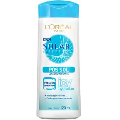 Hidratante Pós-Sol L'Oréal Paris Solar Expertise Pós Sol Icy Hidration - 120ml