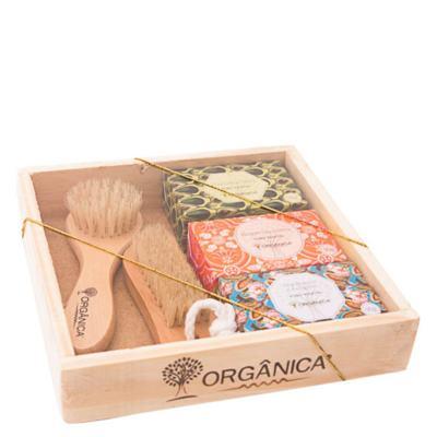 Imagem 1 do produto Banho Puro Vegetal SPA 3 Fragrâncias Orgânica - Kit - kit