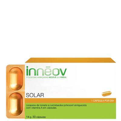 Imagem 1 do produto Innéov Solar Inneov - Suplemento Prolongador do Bronzeado - 30 Un