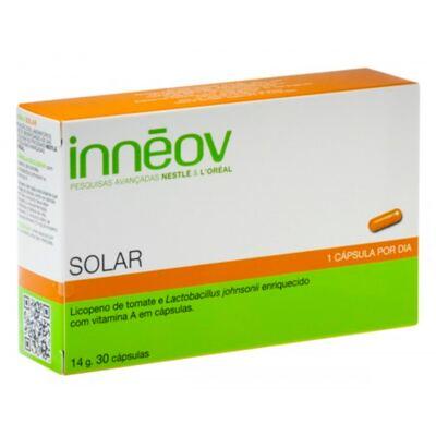 Imagem 2 do produto Innéov Solar Inneov - Suplemento Prolongador do Bronzeado - 30 Un