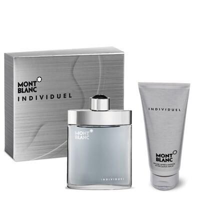 Individuel Montblanc - Masculino - Eau de Toilette - Perfume + Loção Pós Barba - Kit