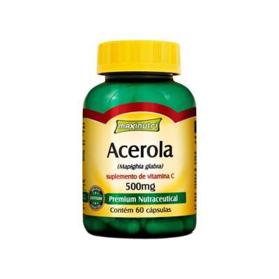 Imagem 1 do produto Acerola 60Cps - Maxinutri - 60Cps