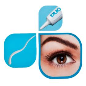 Duo Eyelash Adhesive Duo - Cola Preta para Cílios Postiços - 14g