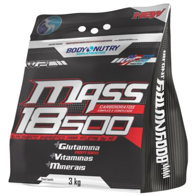 Mass 18500 Refil 3Kg - Body Nutry - Baunilha