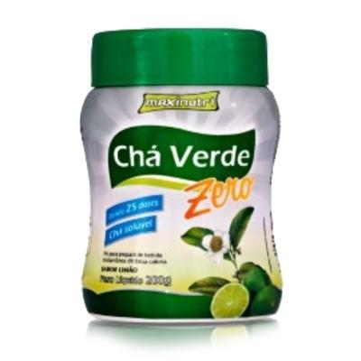 Chá Verde Solúvel Zero 200g Limão - Maxinutri - 200g