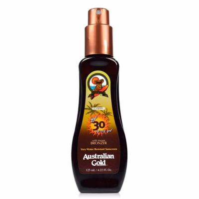 Spray Bronzeador Australian Gold Spray Gel Instant Bronzer SPF 30 - 125ml