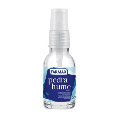 Pedra Hume Com Glicerina Spray 30ml farmax