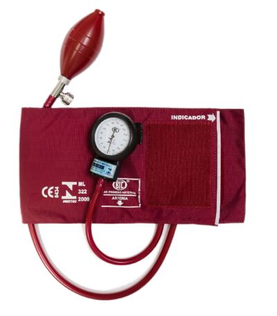 Imagem 6 do produto Kit Esteto Littmann Cardiology IV Vinho com Aparelho de Pressão Bic Vinho