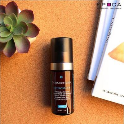 Imagem 4 do produto Resveratrol B E Antioxidante Night SkinCeuticals - Reparador Celular - 30ml