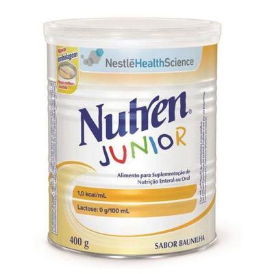 Imagem 1 do produto Nutren Junior Baunilha 400g -