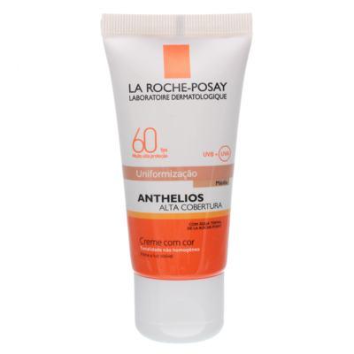 Protetor Solar Facial La Roche-Posay Anthelios FPS60 - Cor Média   40ml