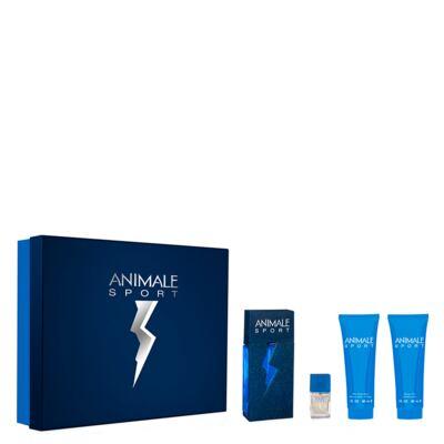 Imagem 2 do produto Animale Sport Animale - Masculino - Eau de Toilette - Perfume + Miniatura + Pós Barba + Gel de Banho - Kit