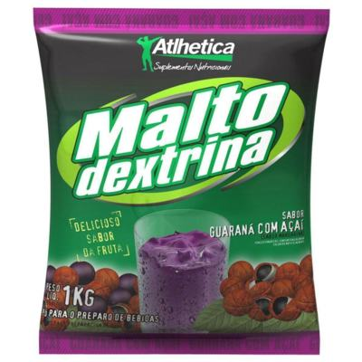 Imagem 1 do produto Maltodextrina 1Kg - Atlhetica - Tangerina