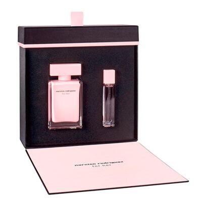 Imagem 1 do produto Narciso Rodriguez For Her Narciso Rodriguez - Feminino - Eau de Parfum - Perfume + Miniatura - Kit