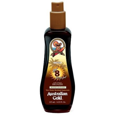 Imagem 1 do produto Spray Bronzeador Australian Gold Spray Gel Instant Bronzer SPF 8 - 125ml