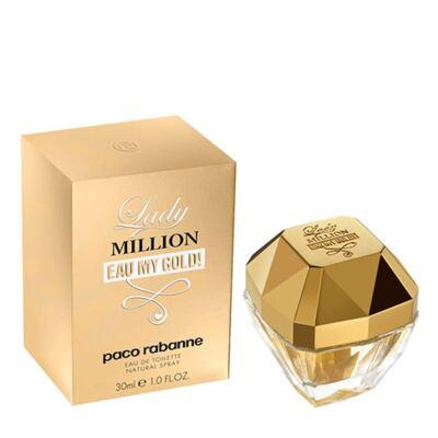 Imagem 2 do produto Lady Million Eau my Gold Paco Rabanne - Perfume Feminino - Eau de Toilette - 30ml