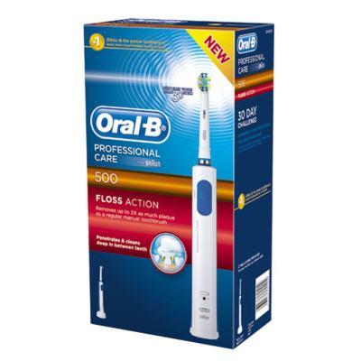 Imagem 1 do produto Professional Care 500 Floss Action Oral B - Escova Dental Elétrica - 220v
