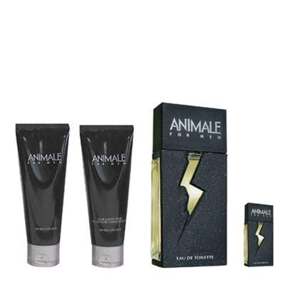 Imagem 1 do produto Animale for Men Animale - Kit Perfume Masculino + Baume Pós-Barba + Gel de Banho + Miniatura - Kit