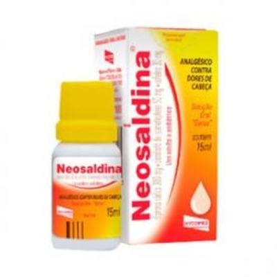 Imagem 1 do produto Neosaldina Gotas 15mL -