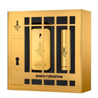 1 Million Paco Rabanne - Masculino - Eau de Toilette - Perfume + Miniatura - Kit