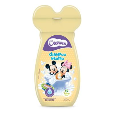 Shampoo Cremer Disney Kids Neutro 200ml